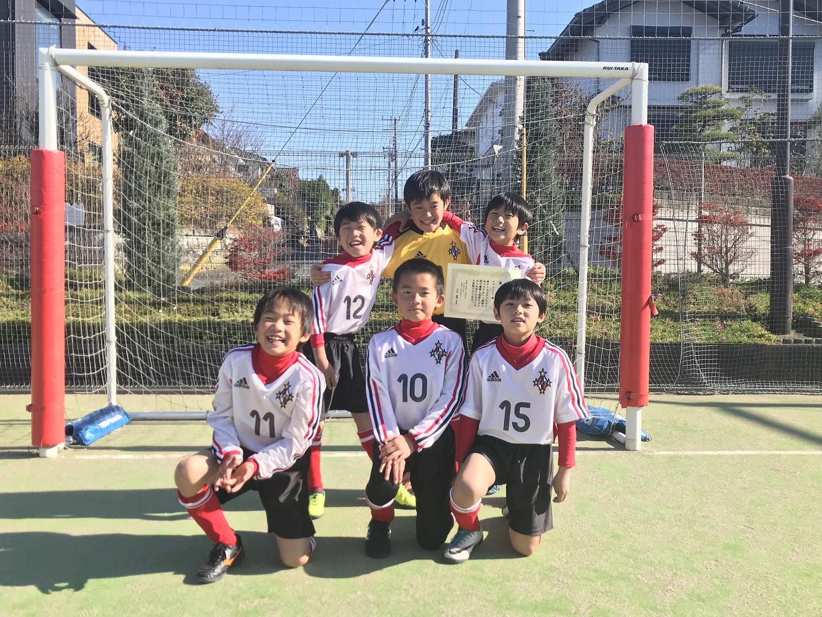 クリスマスカップ U-8 準優勝 12月3日