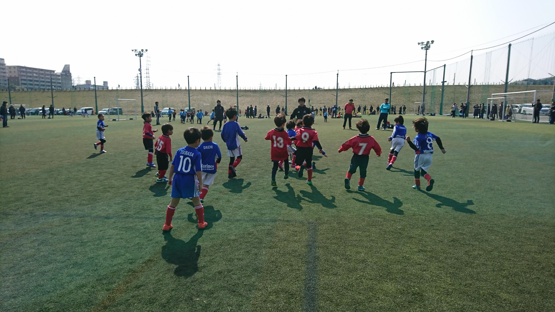 スーパーキッズGoal30@しんよこフットボールパークに出場しました!